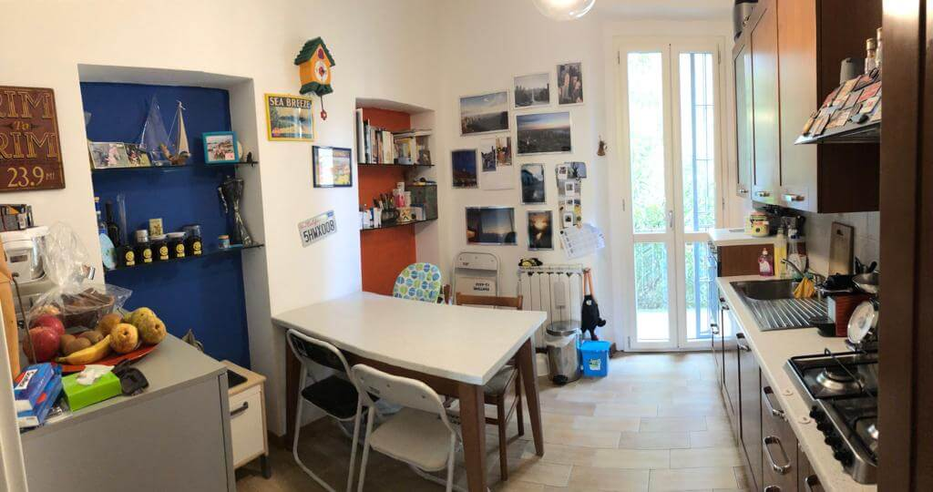 Two-bedroom apartment near the metro Port of Venice