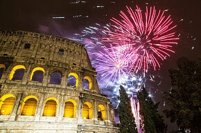 Meet the New year in Italy