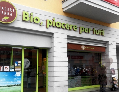 Shop premises in Milan