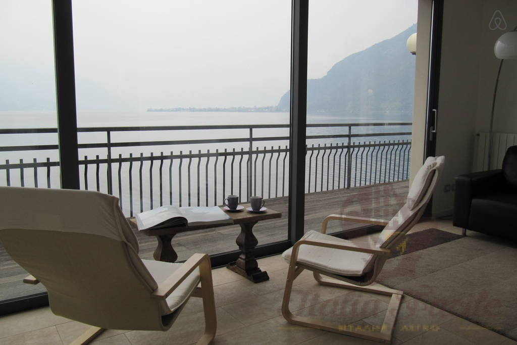 Daily rent 3-room apartment on the shores of Lake Como